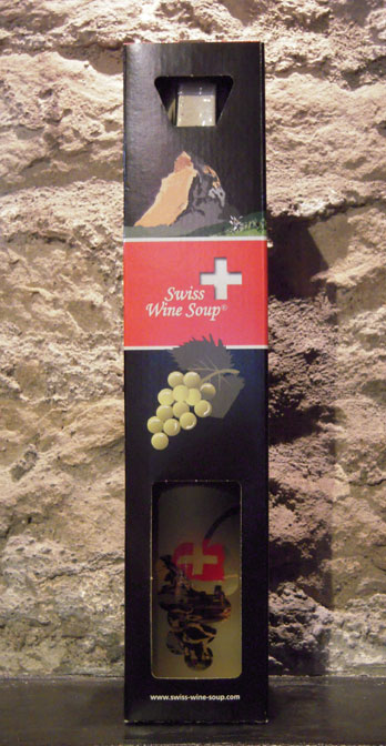 Swiss Wine Soup